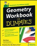 Geometry Workbook for Dummies (Paperback)