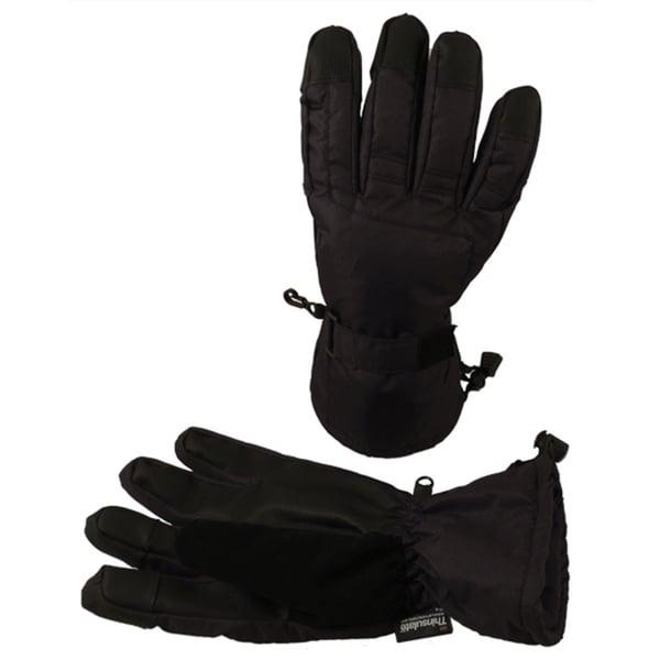 Men's Winter Thinsulate Lined Touchscreen Ski Gloves 32592874