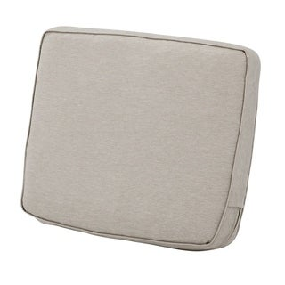 "Montlake FadeSafe Patio Lounge Back Cushion - 21""L x 4""W x 20""H"