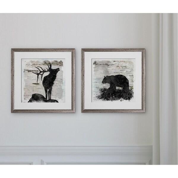Birchbark Elk & Bear -2 Piece Set 32611806