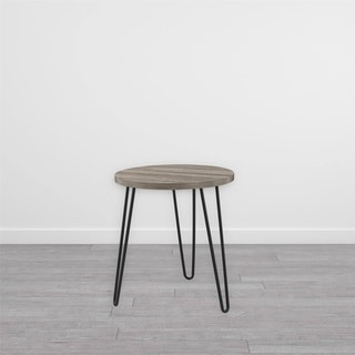 Avenue Greene Isaac Retro Round End Table