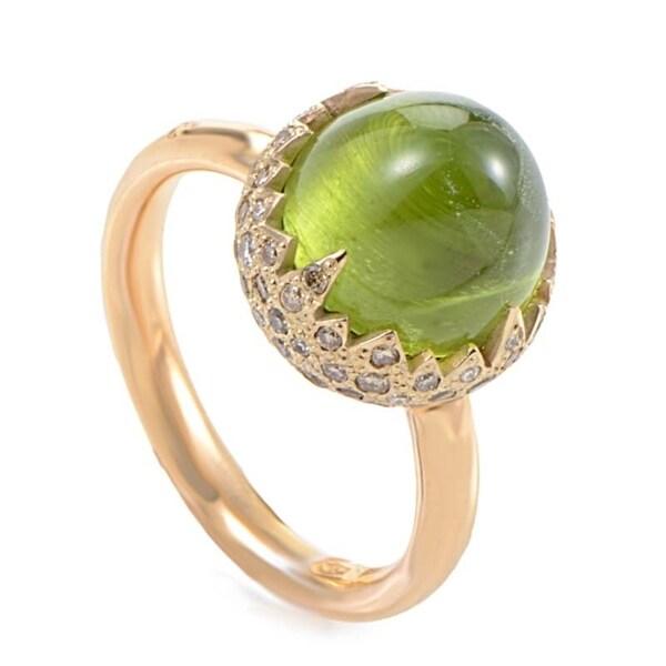 Chimera  Rose Gold Peridot & Diamond Ring A.A906BO6/OE 32755449
