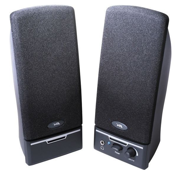 Cyber Acoustics CA-2012RB 2.0 Speaker System - 4 W RMS - Black