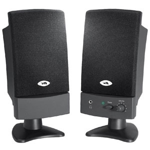 Cyber Acoustics CA-2100WB 2.0 Speaker System