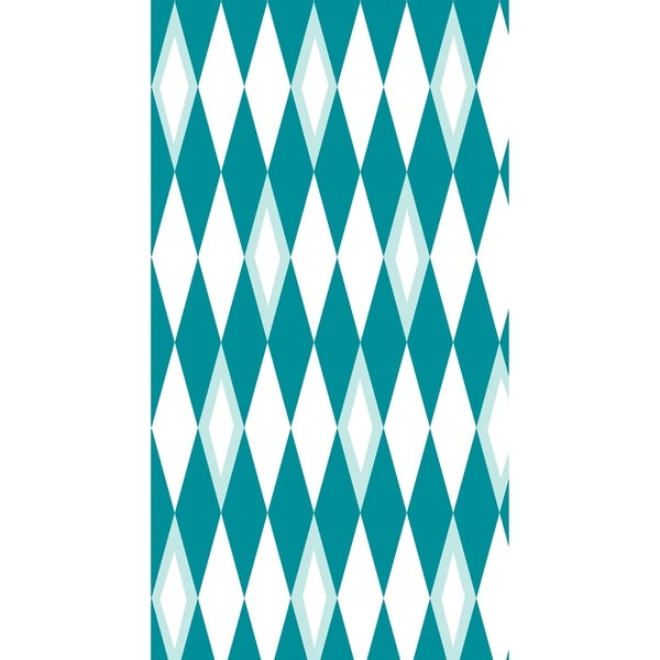 16 x 25 inch Harlequin Geometric Print Kitchen Towel 32768248