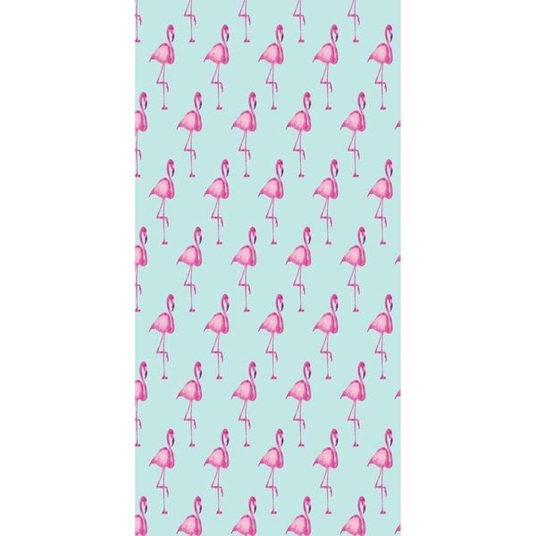 28 x 58 inch Flamingo Fanfare Multi Animal Print Bath Towel 32770362