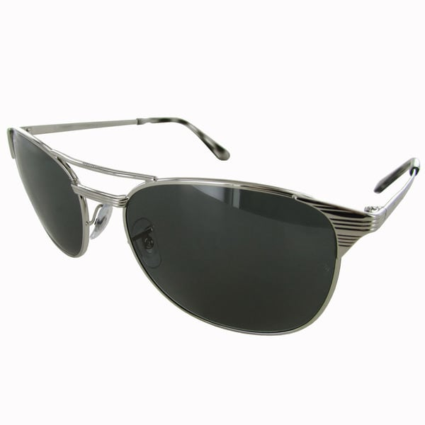 Ray-Ban Signet RB3429M Womens Silver Frame Blue/Grey Classic Lens Sunglasses 32799610