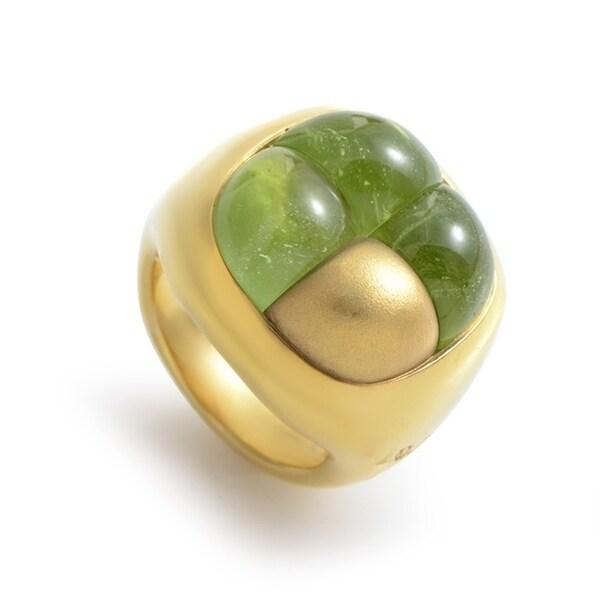 Pomellato Yellow Gold Peridot Ring 32826855
