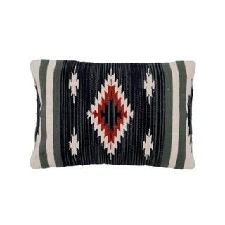 Handmade Cotton Throw Pillow, Set of 2 (India)