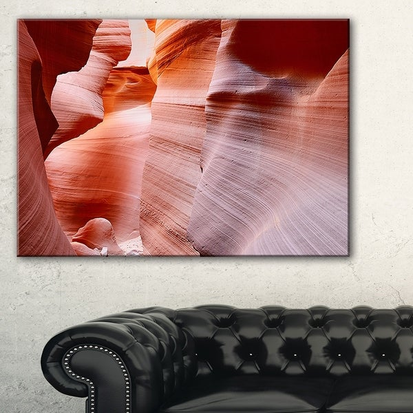 Sun Rays in Antelope Canyon - Landscape Photo Canvas Print 32849625