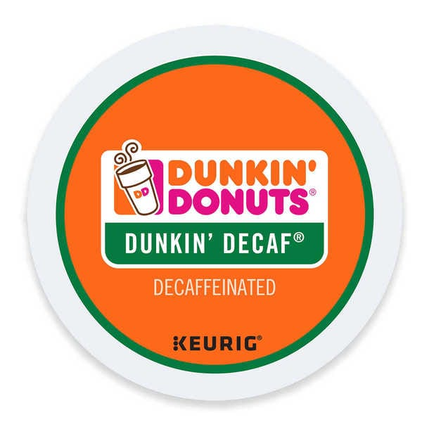 Dunkin' Donuts Decaf Keurig K-Cups Pods 96 Count 32931942