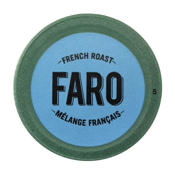 Faro French Roast, Extra Dark Roast Coffee, 100% Compostable, Fair Trade Keurig Compatible Single Serve Cups 48 Count 32932226