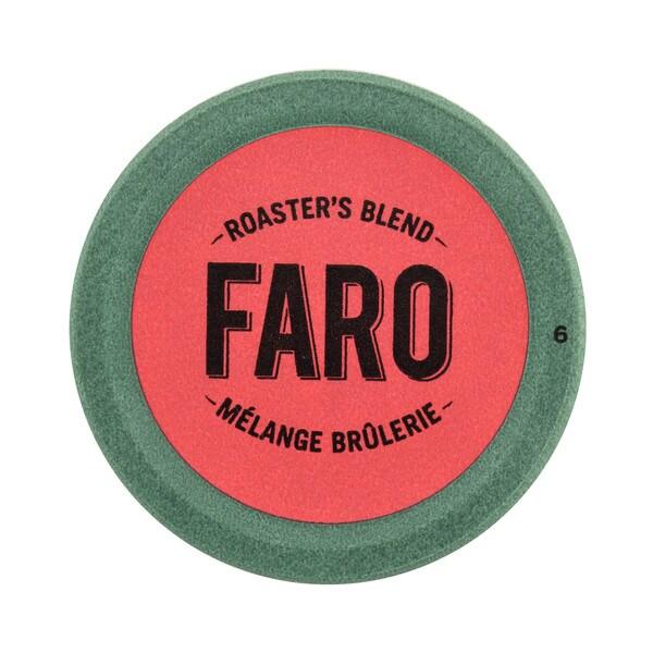 Faro Roaster's Blend, Medium Roast Coffee, 100% Compostable Rainforest Alliance Single Serve Cups for Keurig Brewers 12 Count 32932229