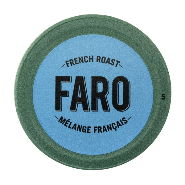 Faro French Roast, Extra Dark Roast Coffee, 100% Compostable, Fair Trade Keurig Compatible Single Serve Cups 12 Count 32932236