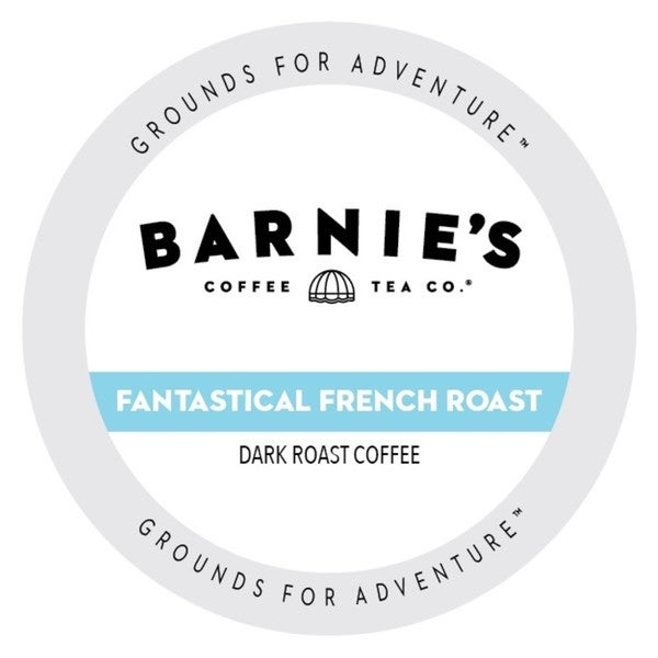 Barnie's Coffee Kitchen French Roast, Single Serve Cups for Keurig Brewers 24 Count 32932287