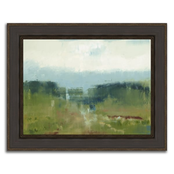 """""""Over The Horizon """" Framed Painting Print in Acrylic Finish 32939352"""