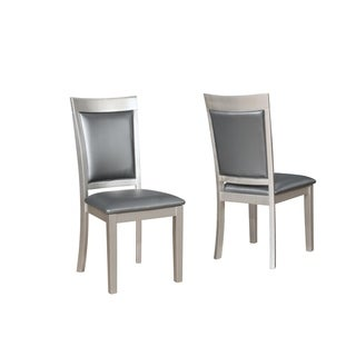 Avignor Contemporary Solid Wood Construction Simplicity Dining Chair, Set of 2