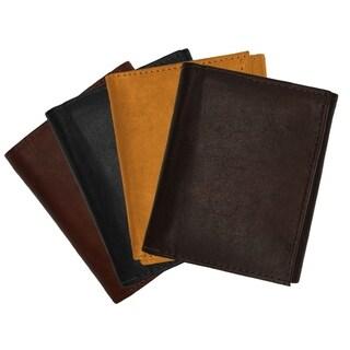 AFONiE Soft Tri-Fold Leather Wallet For Men