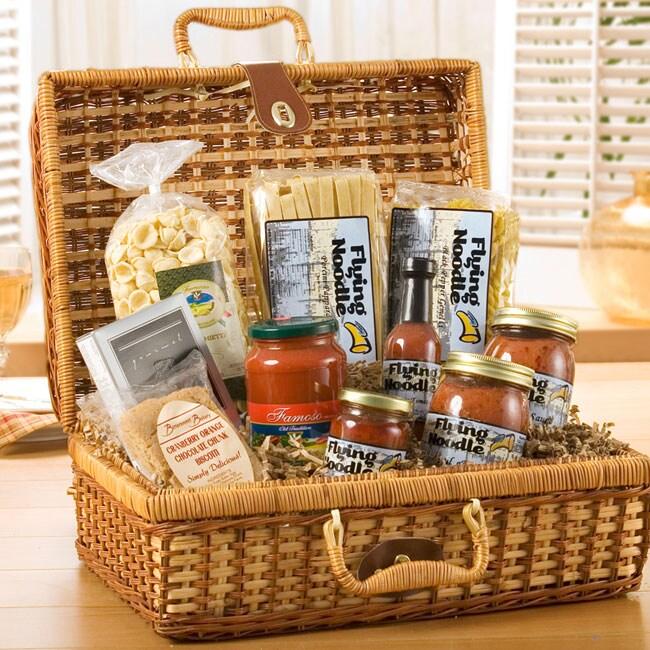 Tuscan Traveler Gourmet Italian Gift Basket