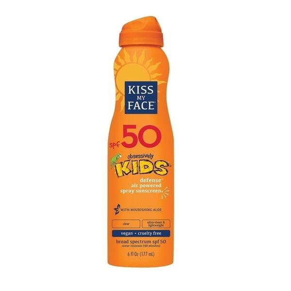Kiss My Face SPF 50 Kids Defense Continuous Spray Sunscreen, 6 Oz 33023745