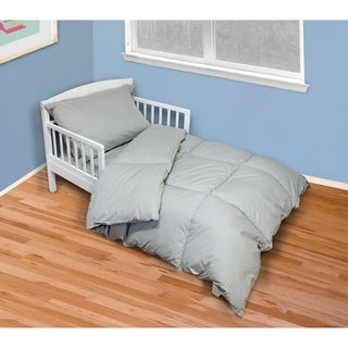St. James Home 4 Piece Cotton Toddler Comforter Set
