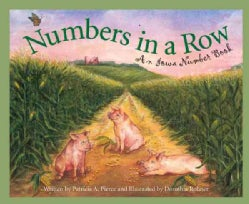 Numbers in a Row: An Iowa Number Book (Hardcover)