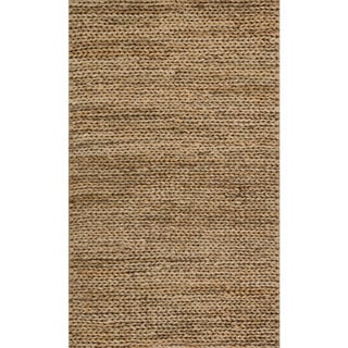 Alexander Home Hand-woven Natural Jute Farmhouse Rug - 2' x 5'
