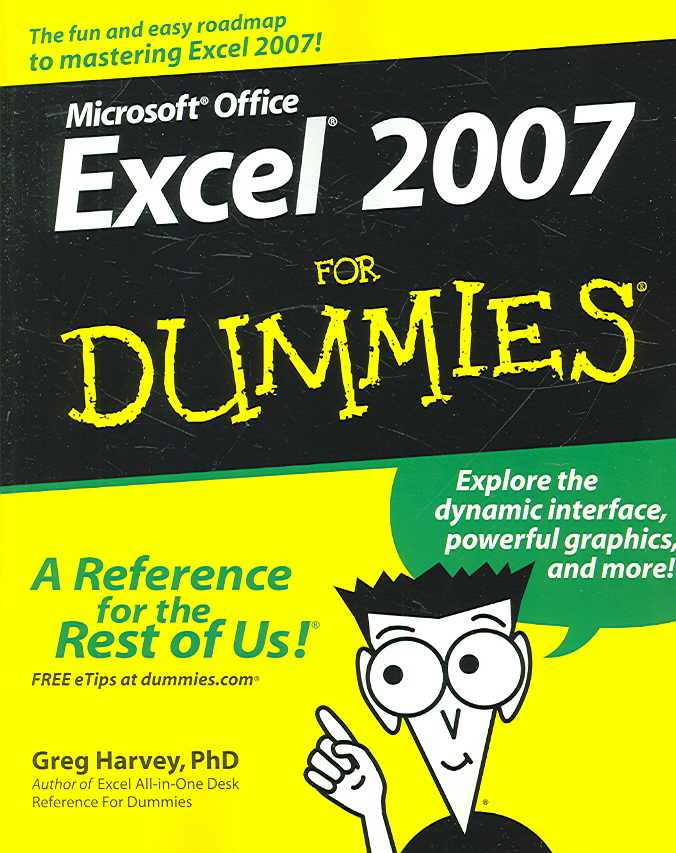 Microsoft Office Excel 2007 for Dummies (Paperback)