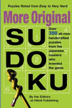 More Original Sudoku: Book 3 (Paperback)