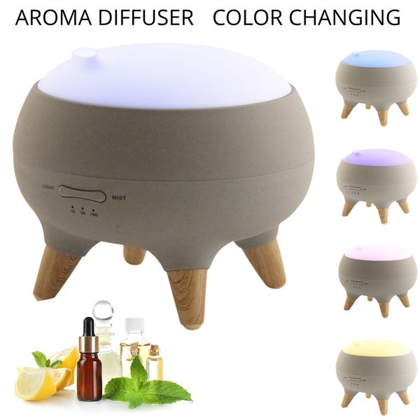 Color Changing Aroma Diffuser - gray 33072360