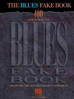 The Blues Fake Book (Paperback)
