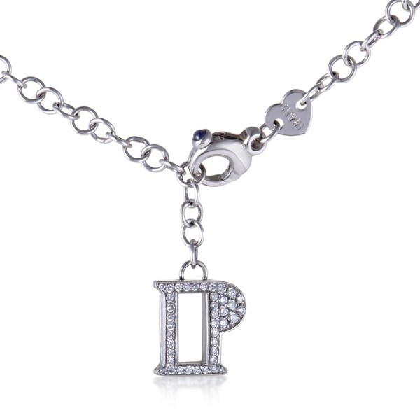 Pasquale Bruni Womens White Gold Diamond Pave Pendant Necklace 33093608