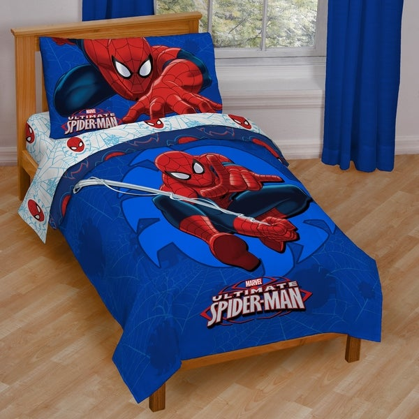 Marvel Spiderman Regulator Toddler Bed Set 33112815