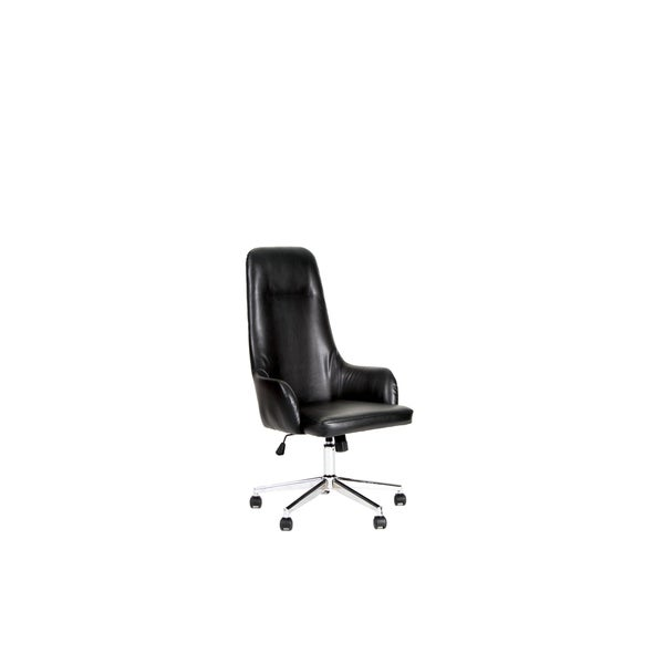 Leather High Back Office Chair 33119878