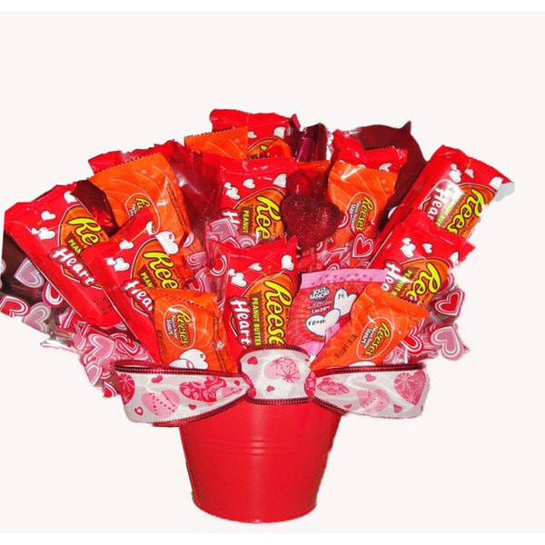 I Love Reeses Chocolate Bouquet 33120492