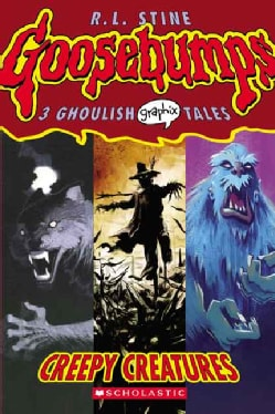 Creepy Creatures (Paperback)