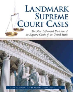 Landmark Supreme Court Cases: The Most Influential Decisions of the Supreme Court of the United States (Paperback)