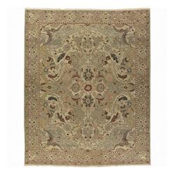 Nourison Hand-woven Millenia Gold Wool Rug (3'10 x 5'10)