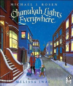 Chanukah Lights Everywhere (Paperback)