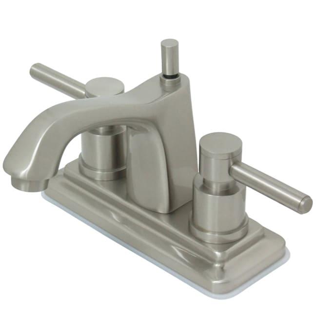 Concord Satin Nickel Lever Handle Bathroom Faucet - 10303539 ...