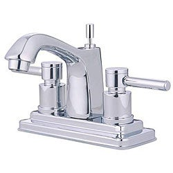 Concord Lever-handle Chrome Bathroom Faucet