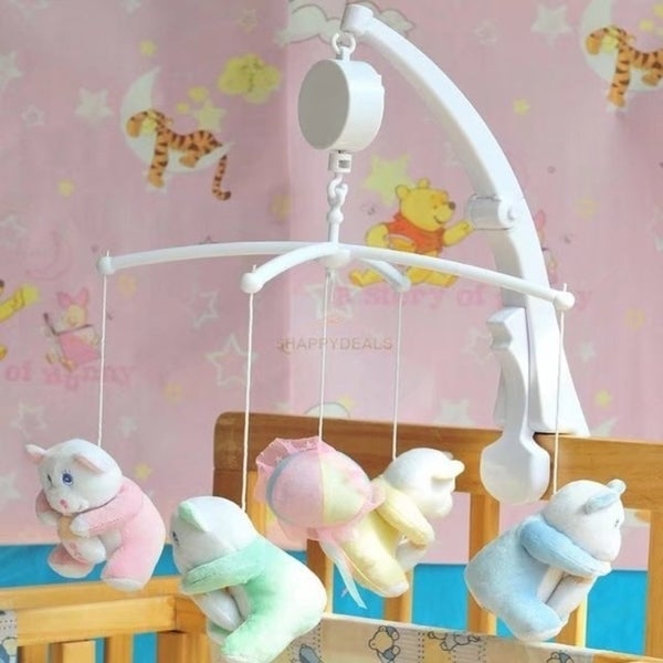 Baby Crib Mobile Bed Bell Toy Holder Arm Bracket Hanging Music Box 33224205