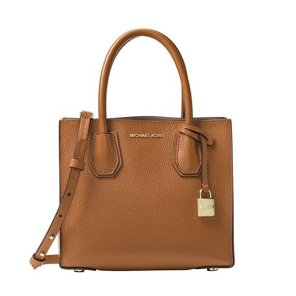 Michael Kors Mercer Medium Acorn Messenger Crossbody Handbag 33228511