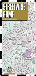 Streetwise Rome: City Center Street Map of Rome, Italy (Sheet map)
