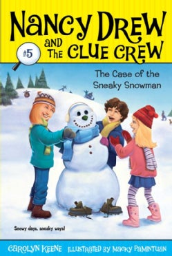 The Case of the Sneaky Snowman (Paperback)