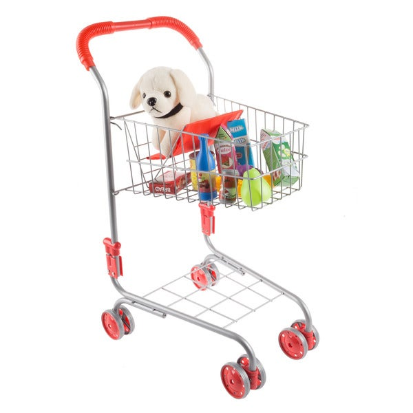 Hey! Play! Pretend Play Shopping Cart- Toy Grocery Cart 33245573