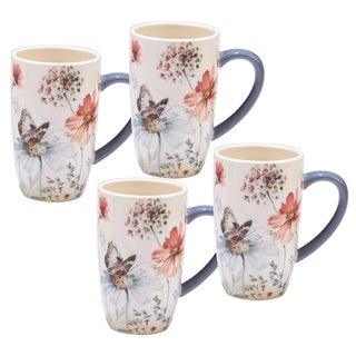 Certified International Country Weekend 14-ounce Mugs (Set of 4)