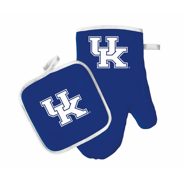 NCAA Kentucky Wildcats Oven Mitt And Pot Holder 33264304