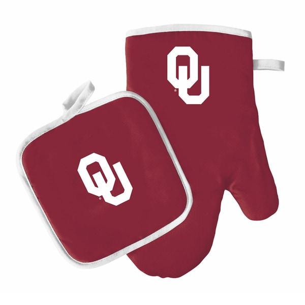 NCAA Oklahoma Sooners Oven Mitt And Pot Holder 33264316