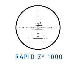 Zeiss Conquest 4.5-14x44 Rapid Z 1000 Reticle Target Rifle Scope